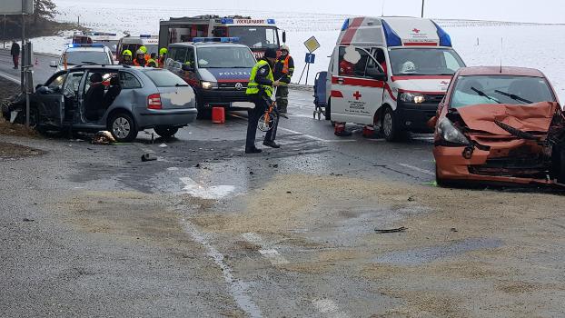 6.3.2018 I  Verkehrsunfall B1