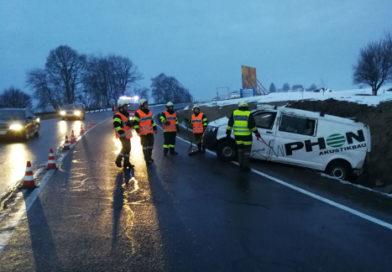 7.3.2018 I  Verkehrsunfall B1 Mösenthal